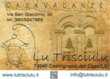 Casa vacanze Lu Trisciulu